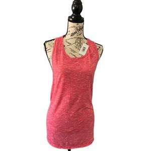 Velvet Rose, pink exercise  tank top, Large, NWT